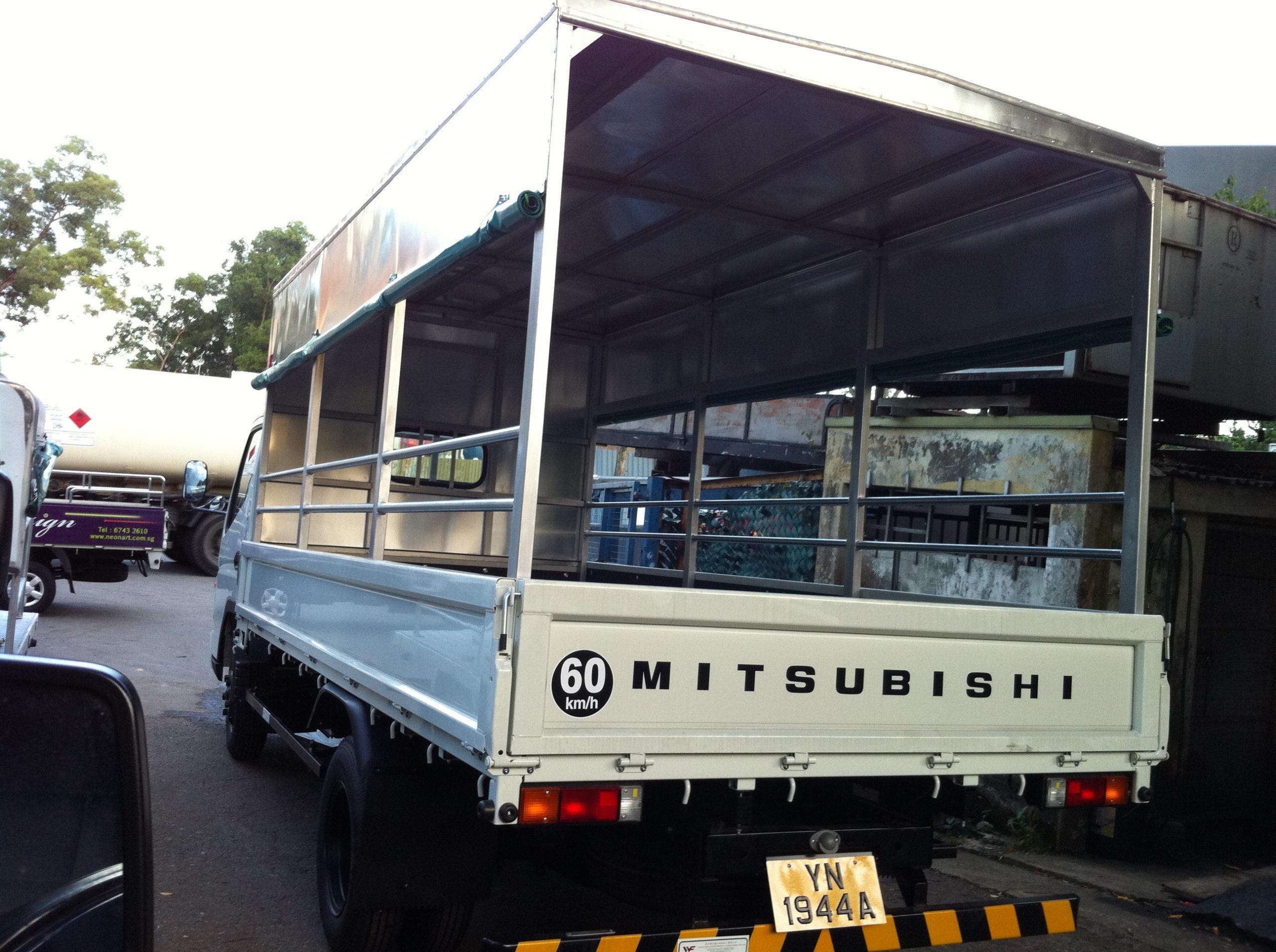 Driving a Goods-cum-Passenger Vehicle (GPV)